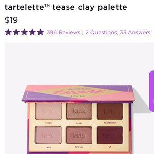 tarte- NIB Tartelette Tease Eyeshadow Palette!
